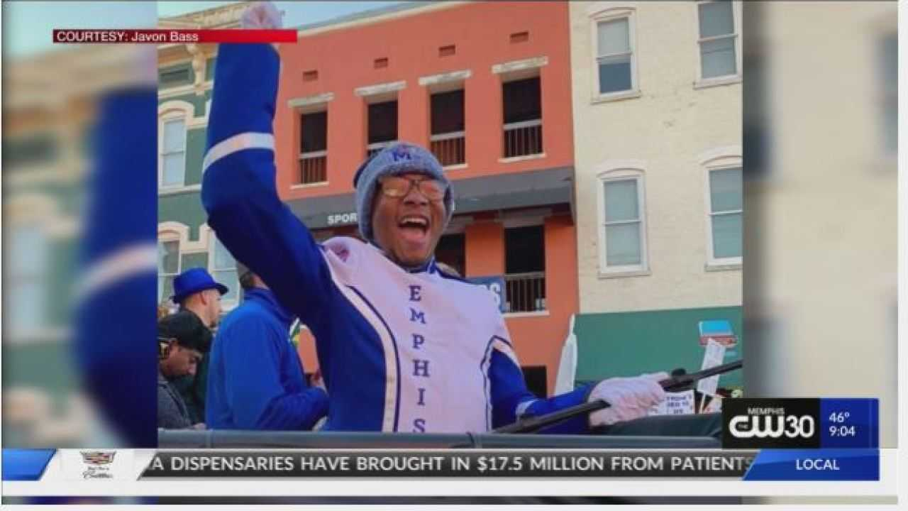 University of Memphis band player and former St. Jude Patient featured on College GameDay in Memphis