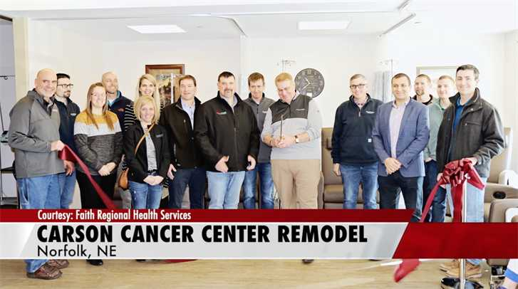 Nucor helps fund remodel at Carson Cancer Center