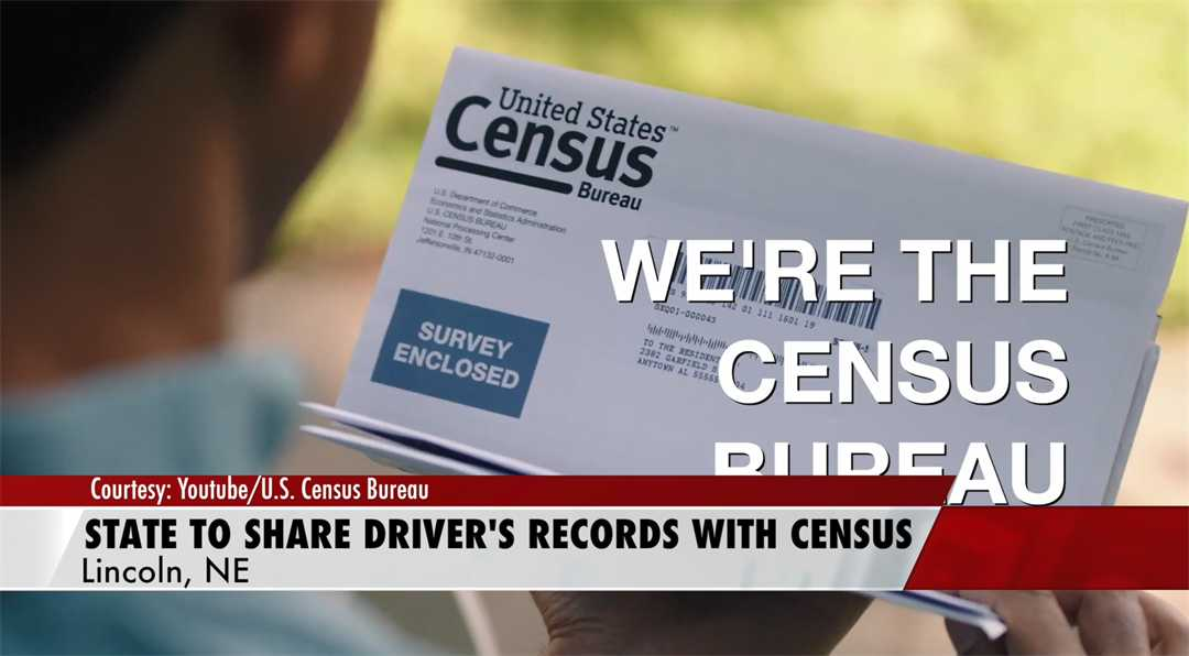Nebraska is 1st to share drivers' records with Census Bureau