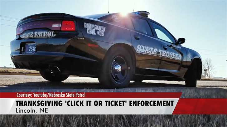 "NSP launches Thanksgiving ""Click It or Ticket"" campaign"