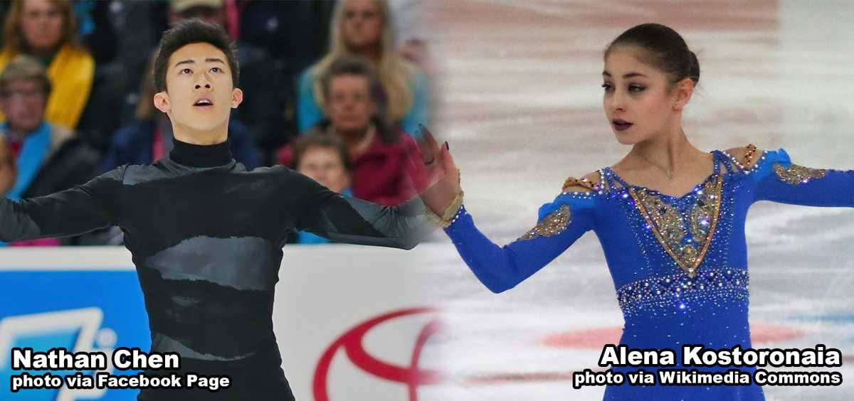 Chen, Kostornaia Named United States Sports Academy November Athletes of the Month
