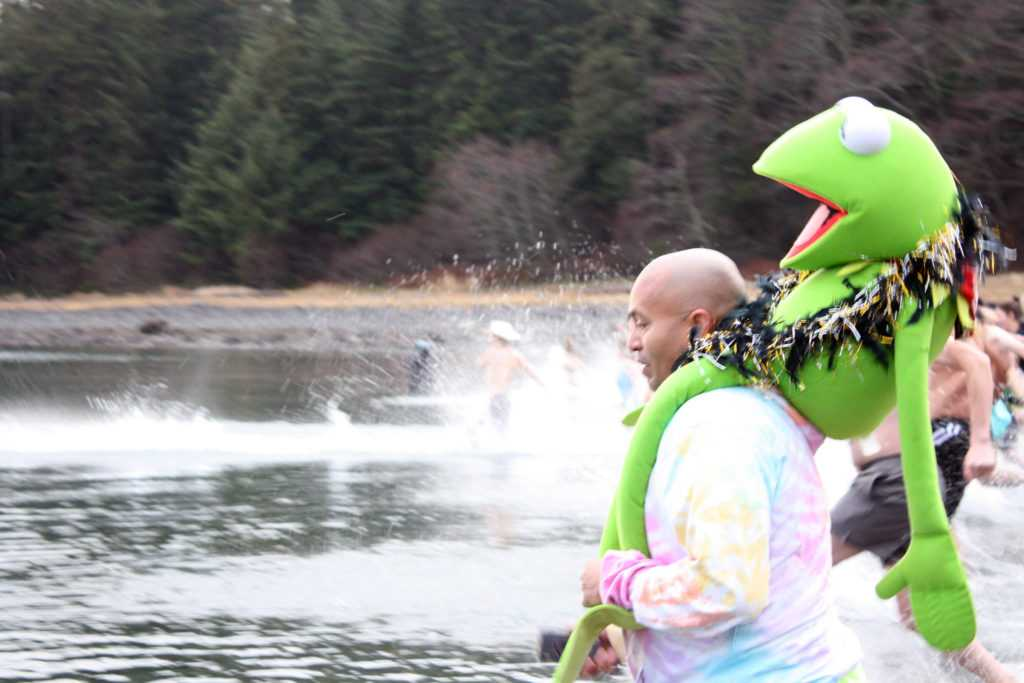 Juneau Polar Bear Dip goes down swimmingly