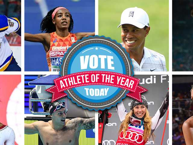 Vote Now for the Academy's 2019 Athlete of the Year Awards