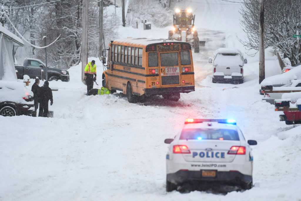 Late snow means safer roads this year compared to last