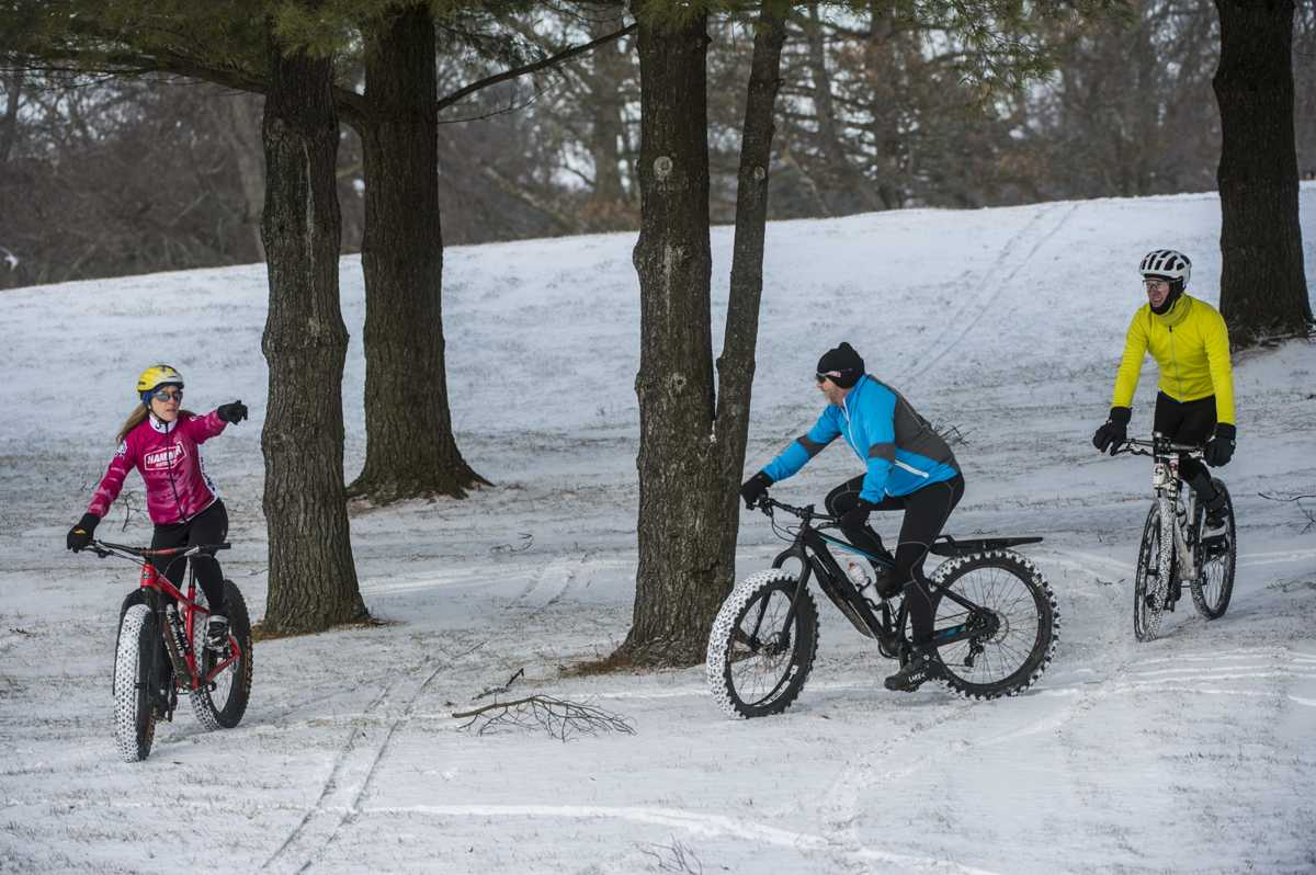Photos: Snow Bikers