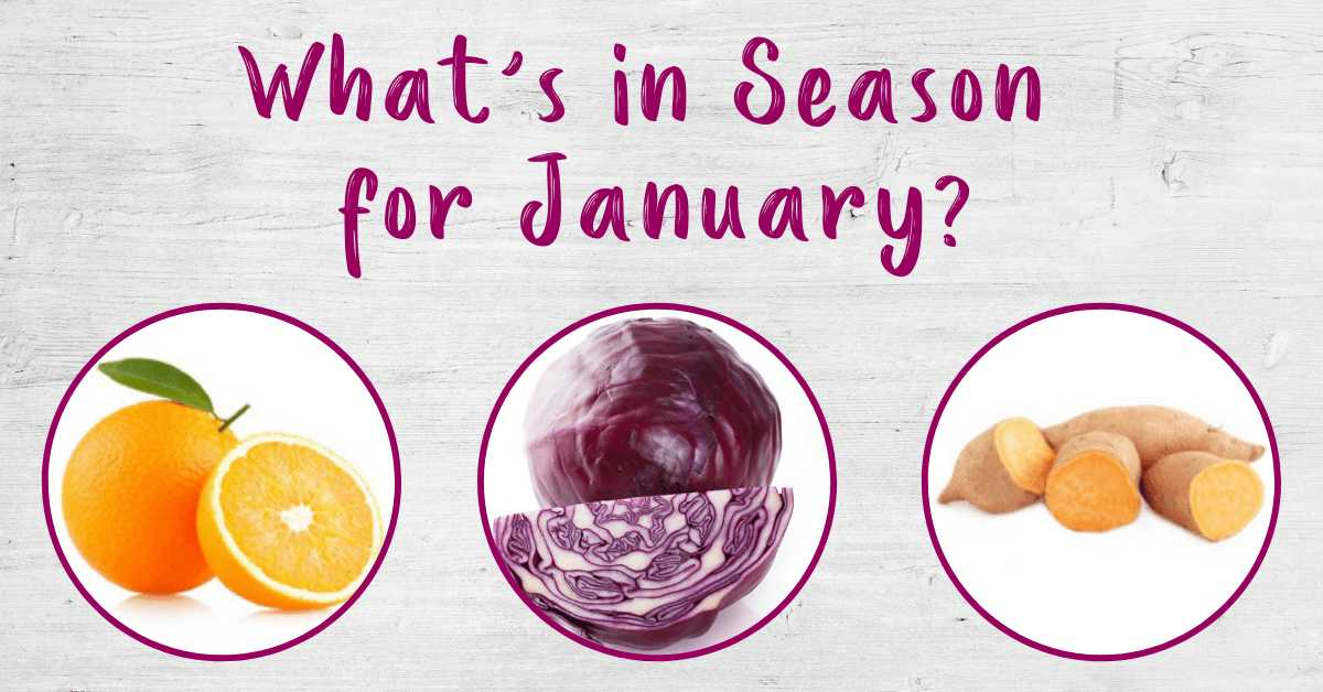 What's in Season for January