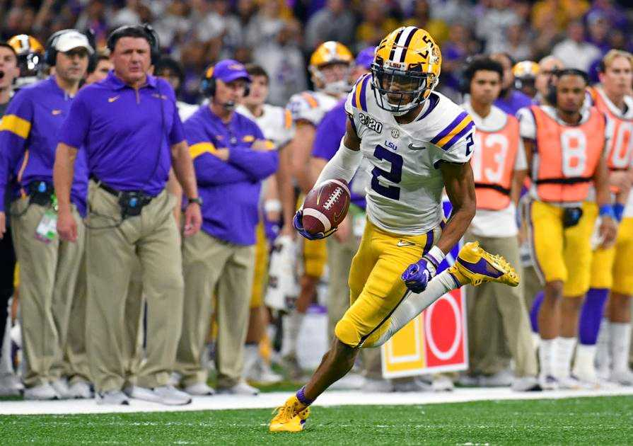 LSU's Justin Jefferson declares for the NFL draft; Tiger leaves as single-season reception leader