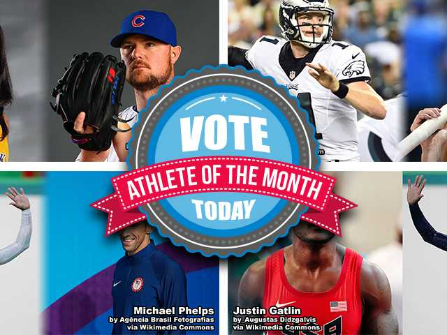 Vote Now for the Academy's January Athletes of the Month