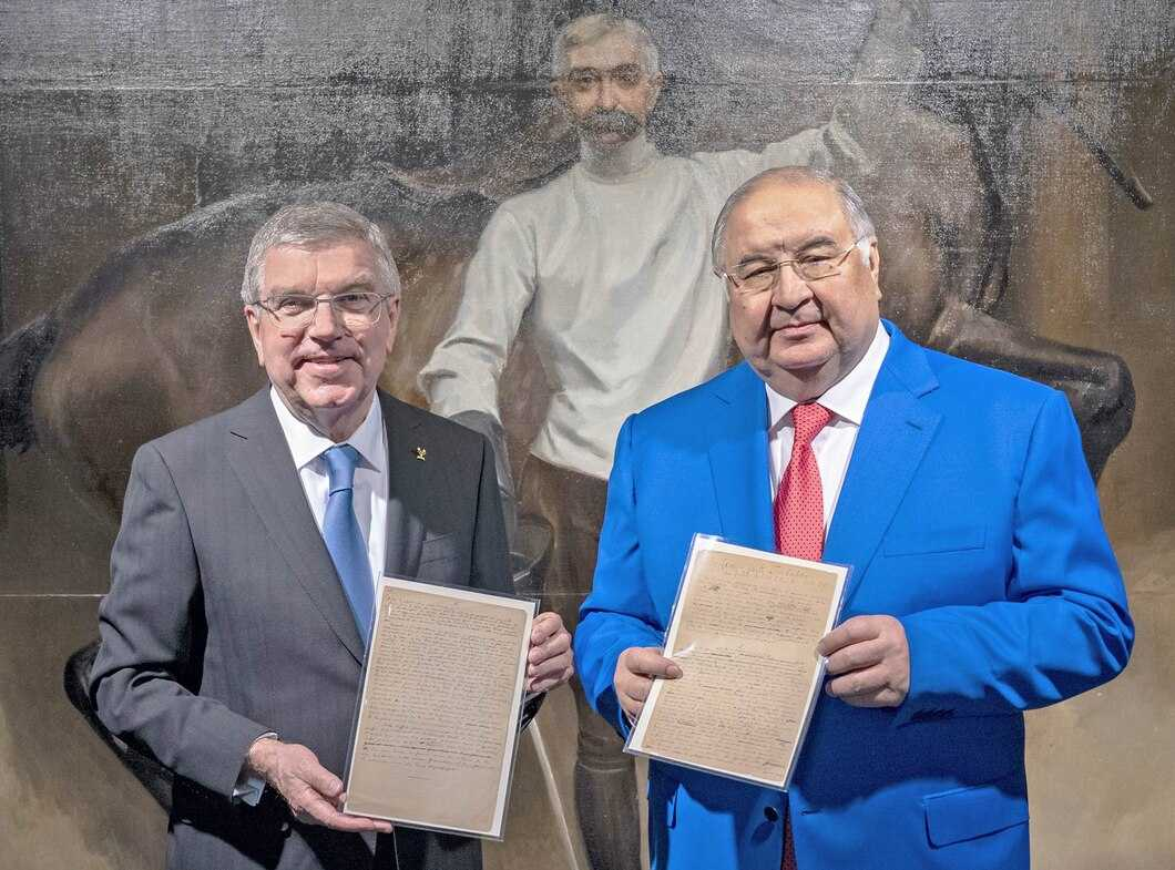 Historic Coubertin Manuscript Donated to Olympic Museum in Lausanne