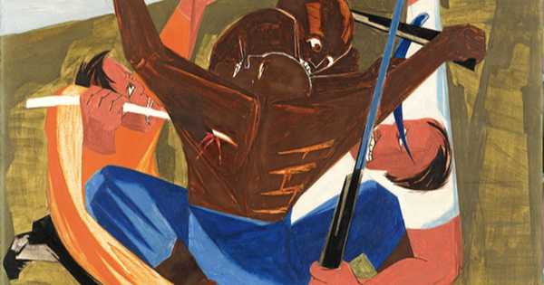 Black History Month Kicks Off A Nationally-Touring Exhibition Of Paintings By Jacob Lawrence
