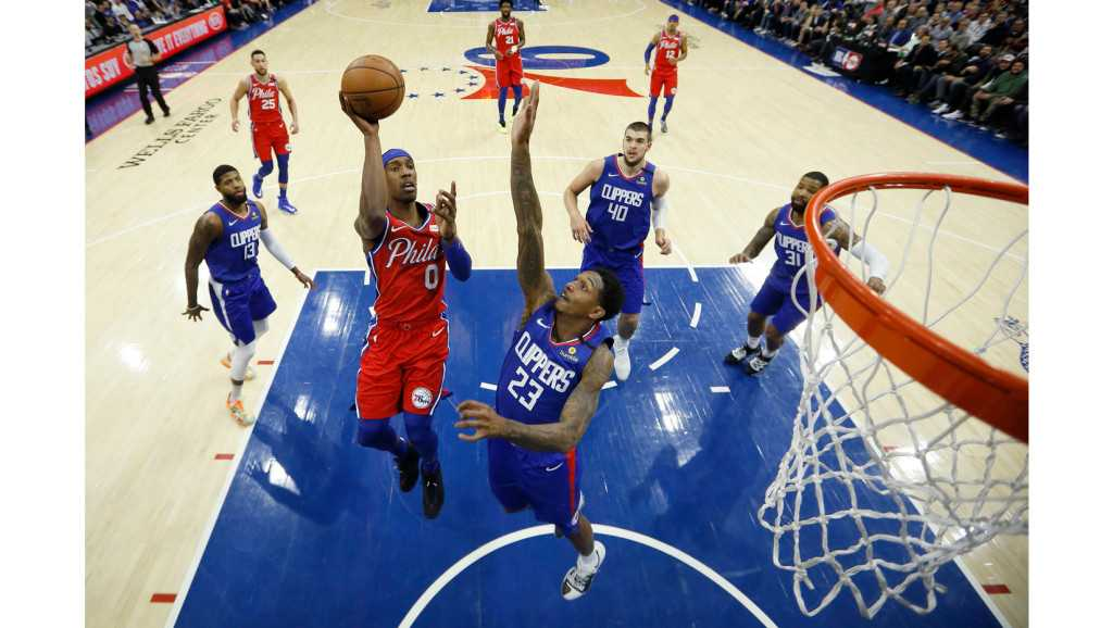 Clippers' late comeback falls short in loss to 76ers