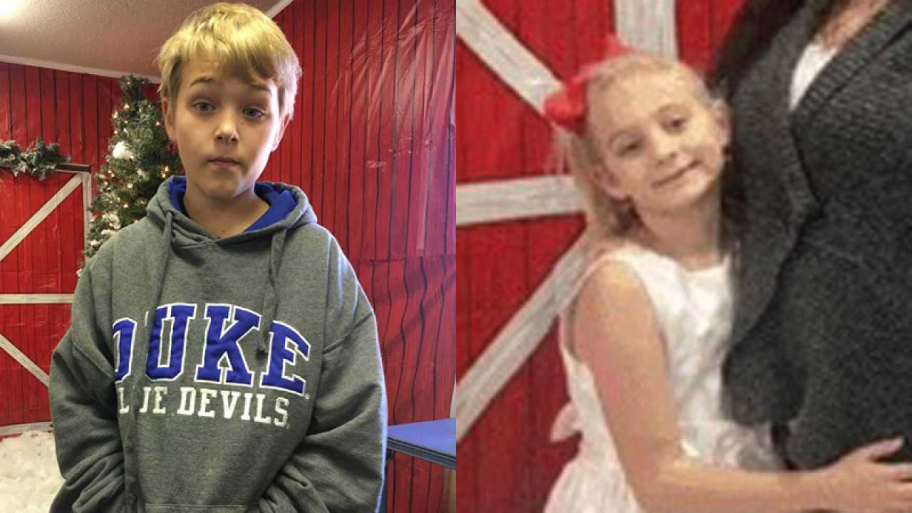 Missing Davidson County kids, ages 10 and 8, found safe