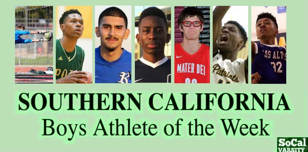 VOTE: Southern California Boys Athlete of the Week (Feb. 14)
