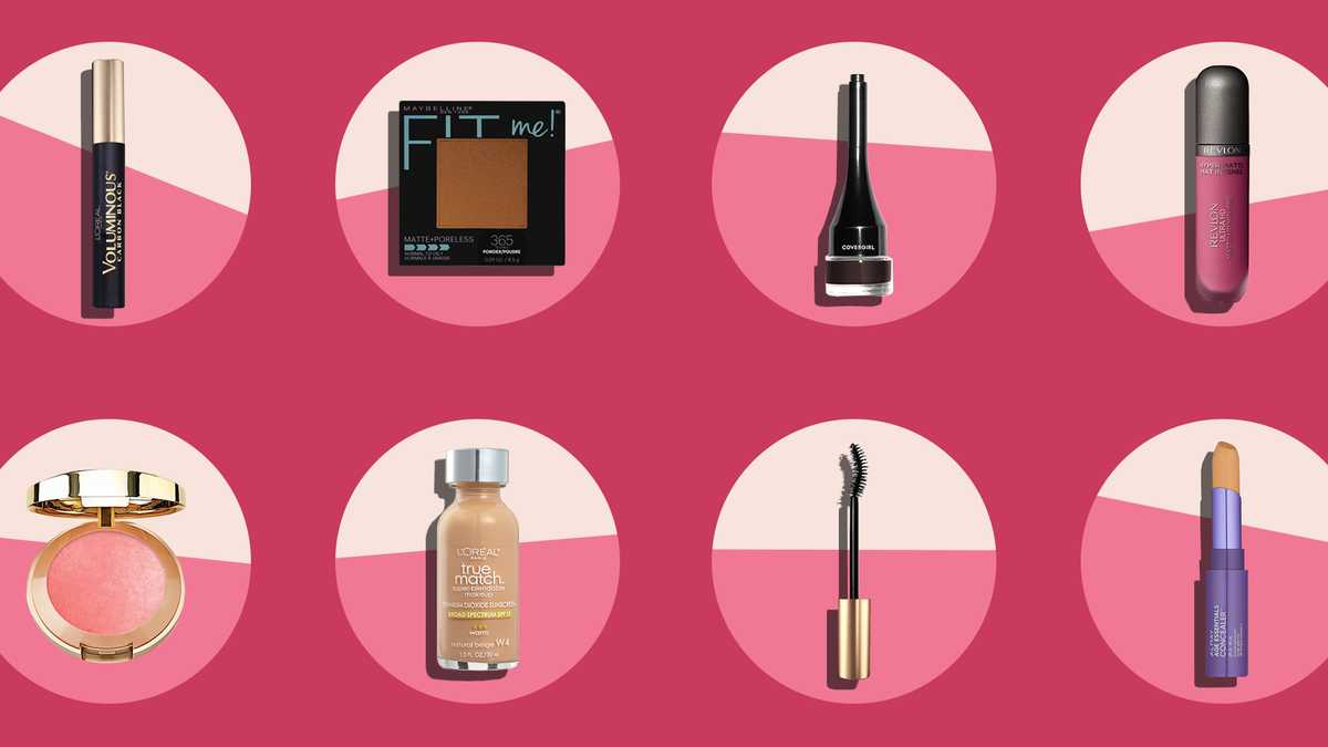 Best drugstore makeup products that won't cost a dime over $15