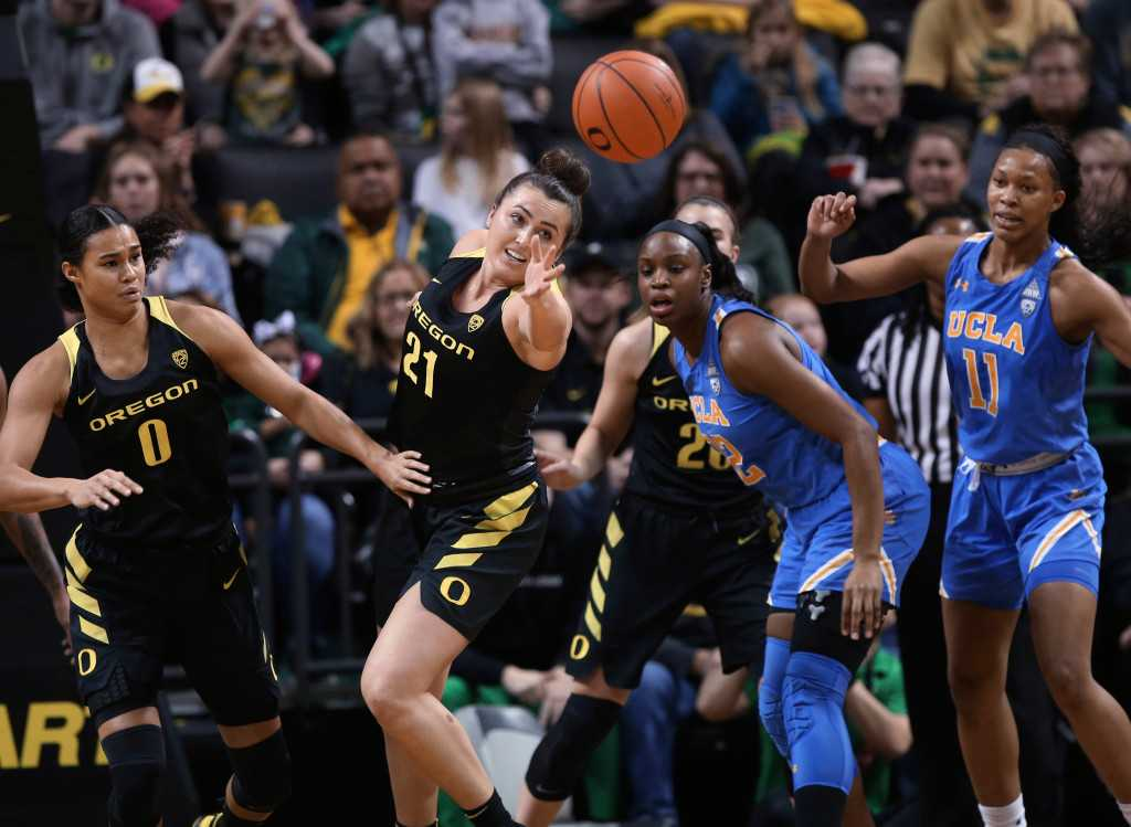 No. 7 UCLA hosts No. 3 Oregon in women's basketball clash