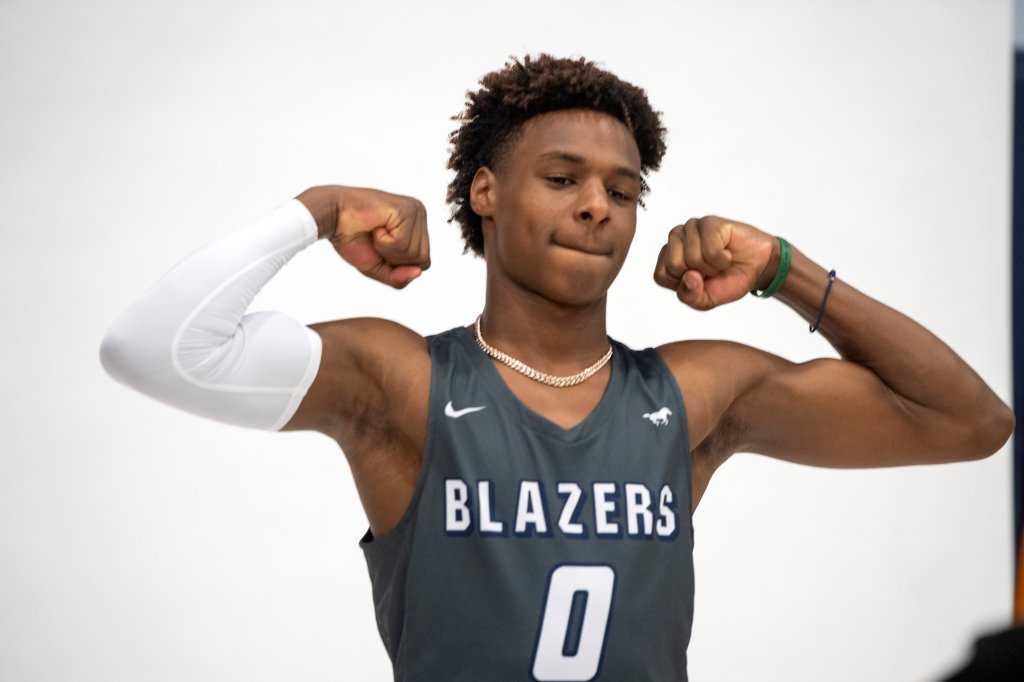 Bronny James: Highlights and top moments, freshman season at Sierra Canyon