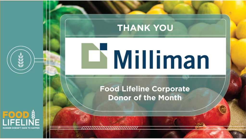 Corporate Donor of the Month: Milliman