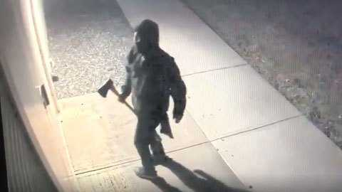 Masked Man Seen On Video Breaking Into Military Museum With Ax