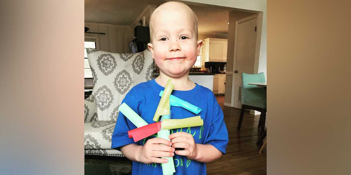 My son's leukemia story: How art is healing us