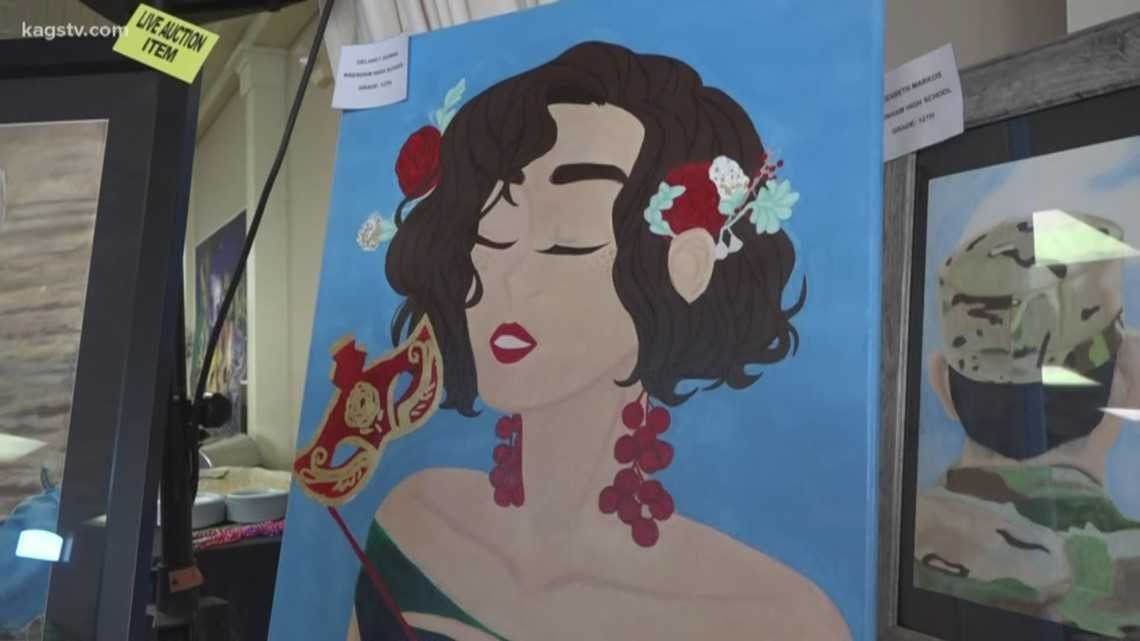 Brenham ISD annual art showcase celebrates huge donations