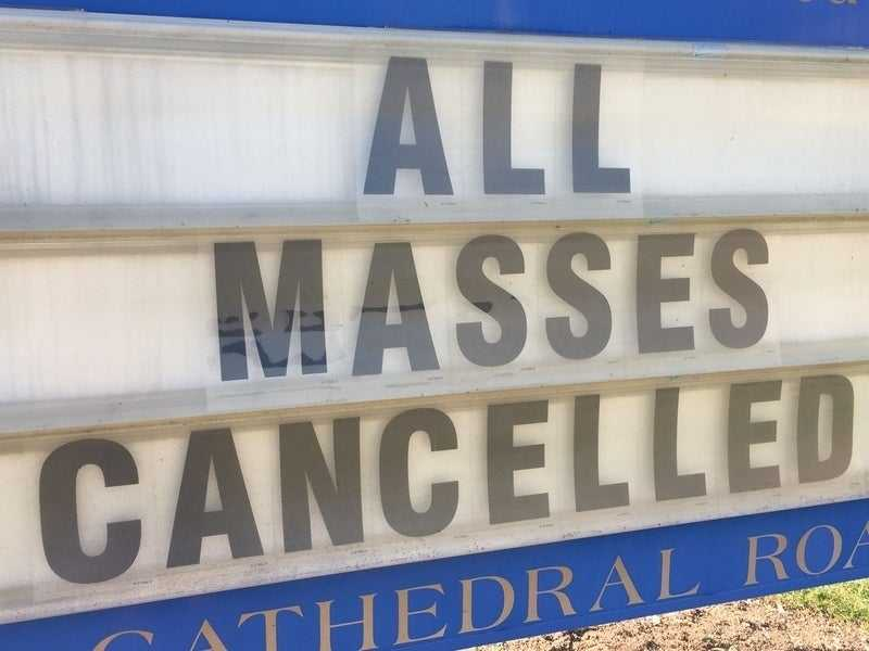 Archdiocese of Los Angeles Cancels Masses Due To Outbreak