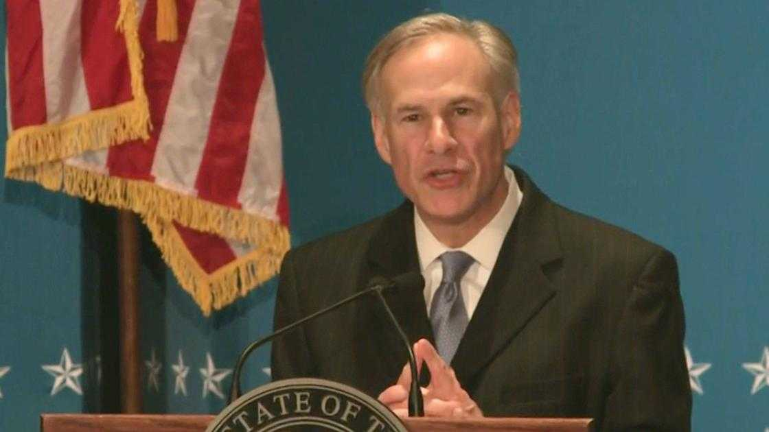 Texas Gov. Abbott postpones runoff primary election in response to COVID-19