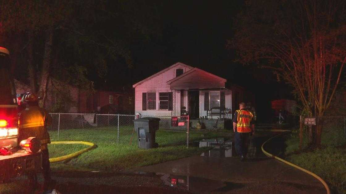 Vacant house fire in Shreveport under investigation
