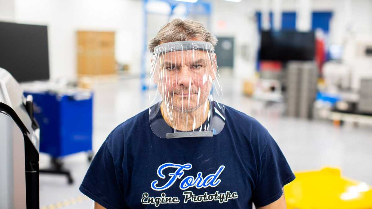 Ford partners with 3M, GE to make respirators, ventilators and face shields