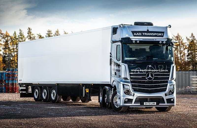 AAD splashes out on Mercedes-Benz Actros Edition 1