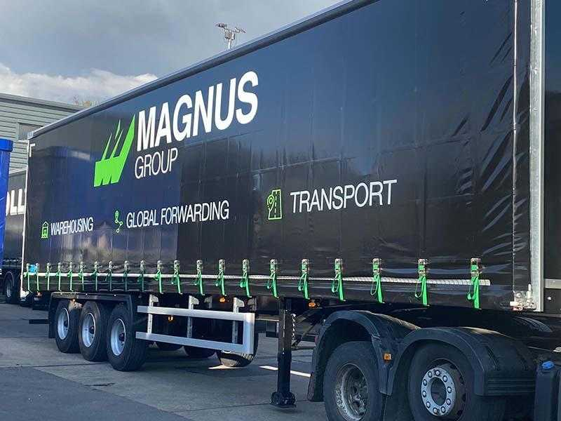Trailer Resources Ltd (TRL) supplies Magnus with 20 Lawrence David trailers