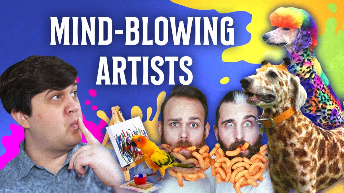 Five Incredible Artists That Will Leave Your Mind Blown!